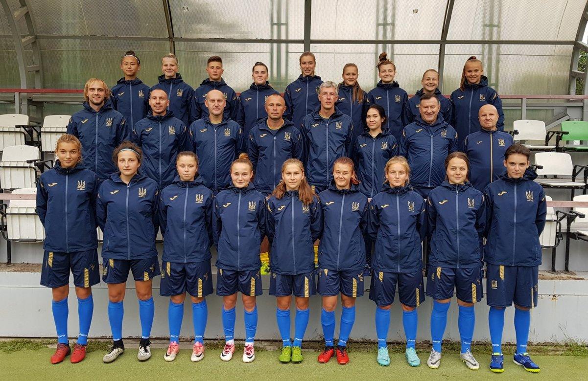 Молодіжна жіноча збірна України з футболу WU19