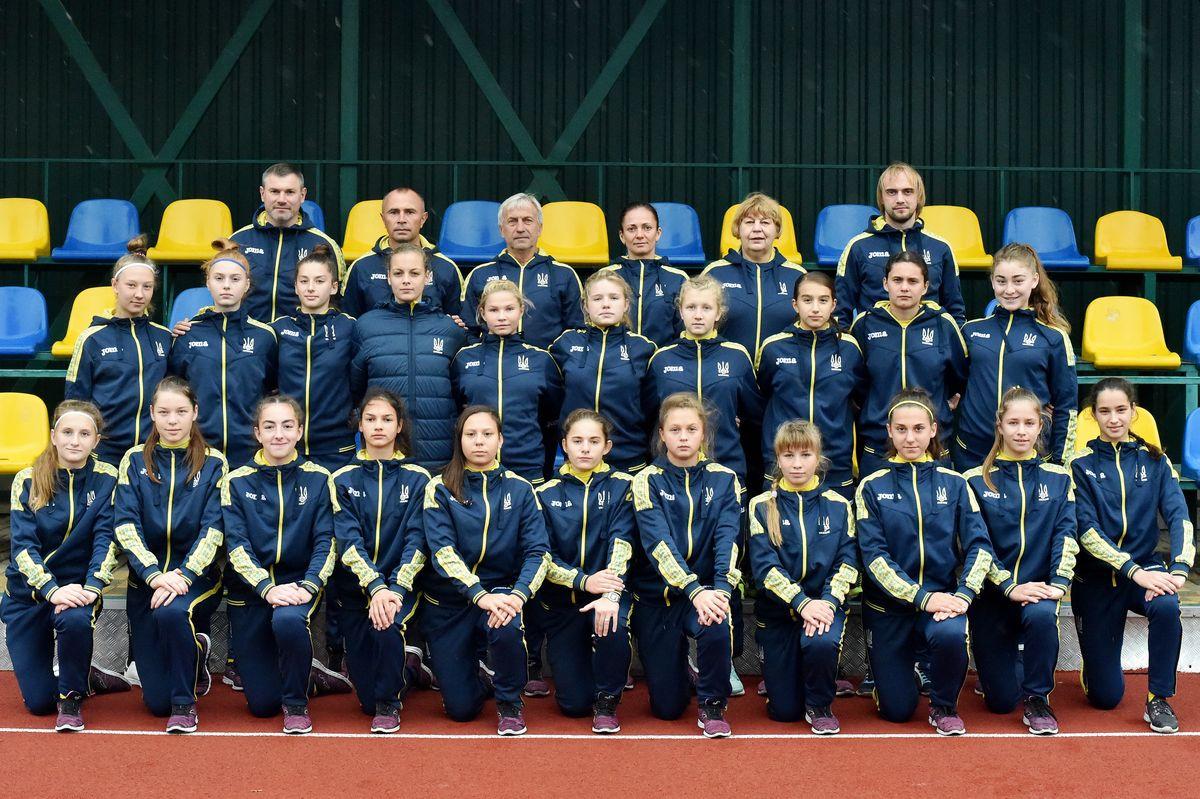 Дівоча збірна України з футболу WU17