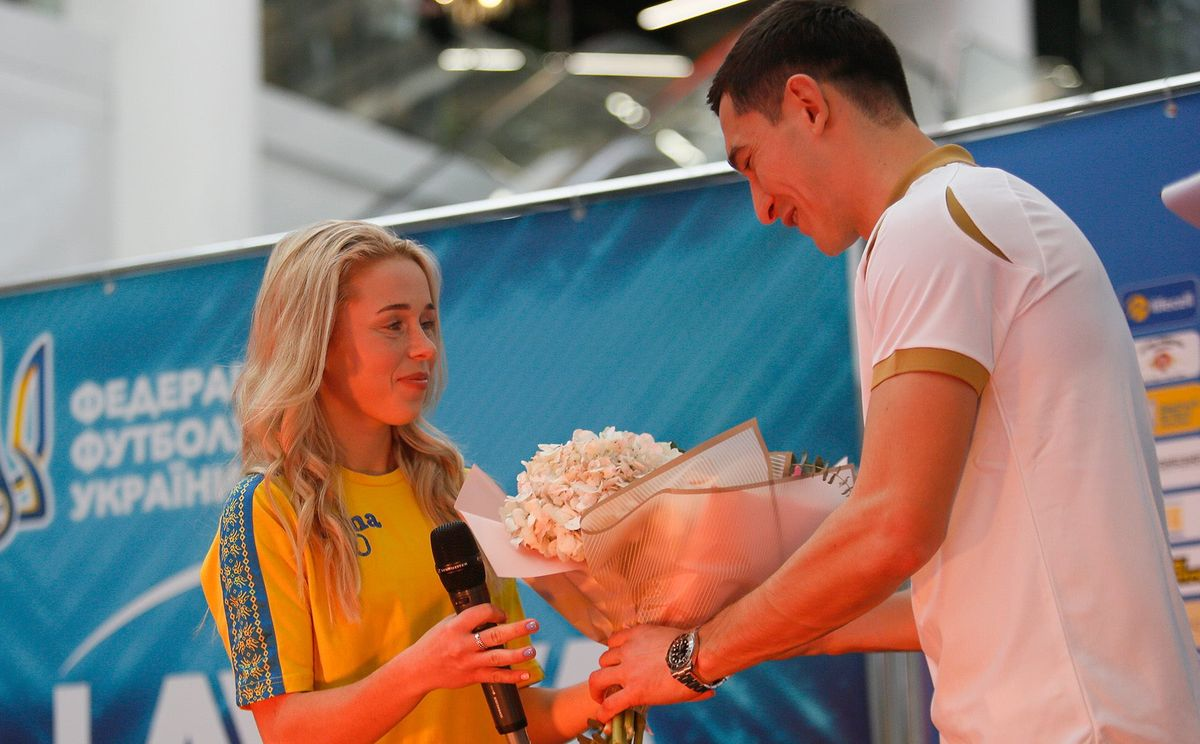 Кочнєва Ірина, Тарас Степаненко, МиЗбірна, УАФ, національна збірна України з футболу