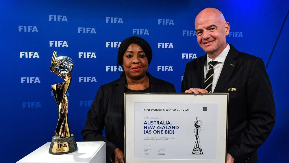 жіночий футбол, женский футбол, ФІФА, FIFA, Інфантіно, Инфантино, AsOne2023, жіночі змагання з футболу, FIFA Women's World Cup 2023