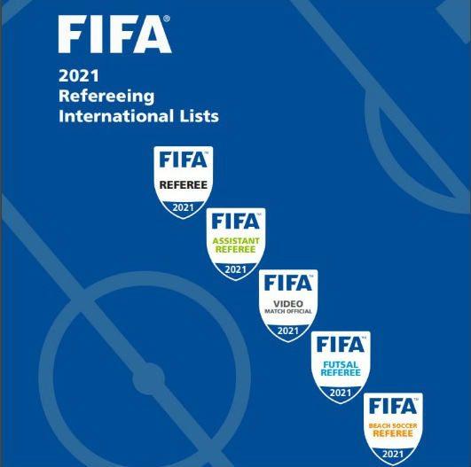 Комітет арбітрів, список арбітрів 2021, ФІФА завтердила список, арбітри-жінки, УАФ, FIFA