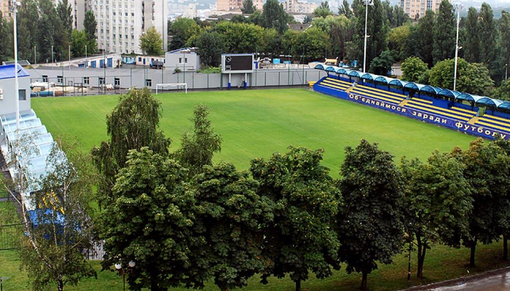 НТК імені Віктора Баннікова, УАФ, стадіон,