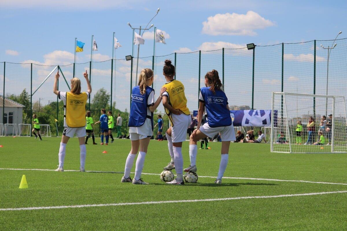 УЄФА GROW «Наша гра», UEFA GROW, жіночий футбол, турнір, дівчата футбол, дівочі футбольні команди, женский футбол, УАФ