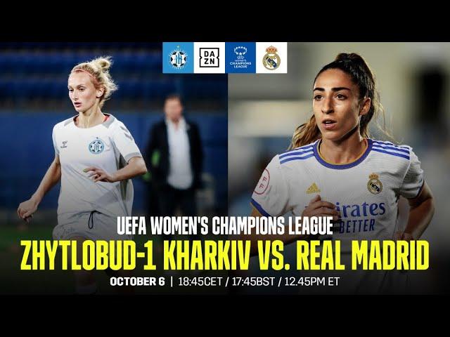 LIVE (06.10 - 19:45). Футбольний вечір Ліги Чемпіонів УЄФА: «Житлобуд-1» (Харків) - «Реал» (Мадрид)