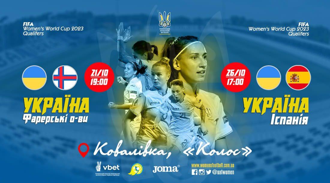 Наталія Зінченко оголосила склад збірної України на матчі з Фарерськими островами та Іспанією